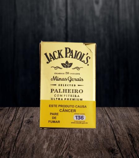 Cigarro de palha Jack Paiol's Ultra Premium com piteira