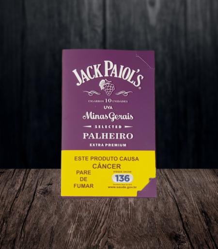 Cigarro de palha Jack Paiol's Uva