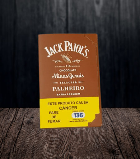 Cigarro de palha JAck Paiol's Chocolate