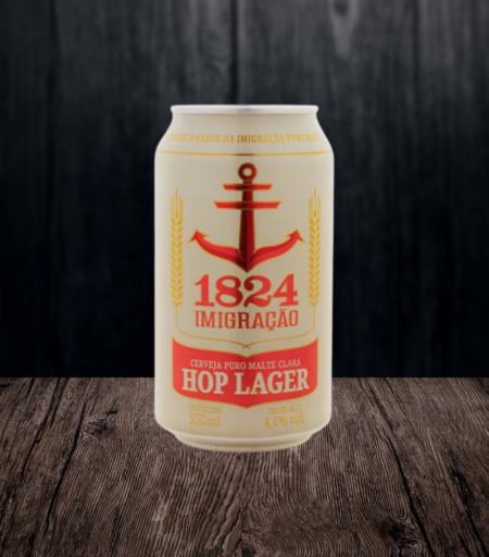 Cerveja 1824 Imigração Hop Lager (Lata)