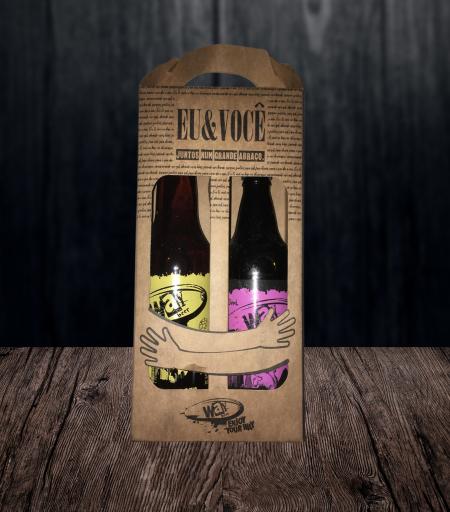 Kit Way Beer - Premium Lager e Avelã Porter