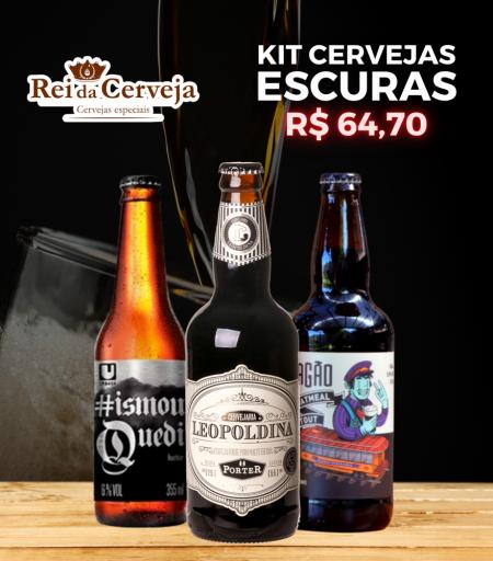 Kit Cervejas Escuras