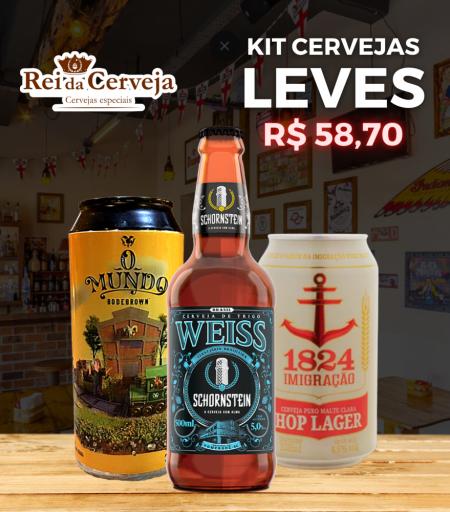 Kit Cervejas Leves