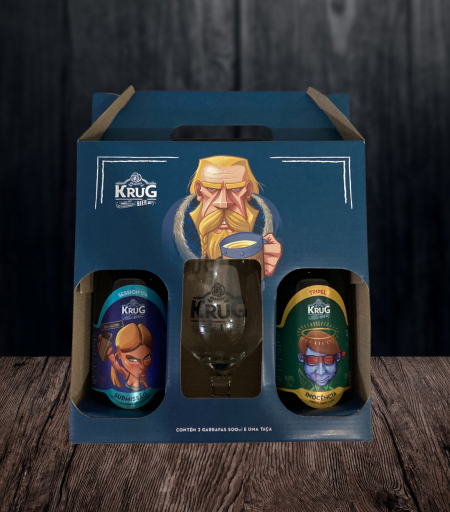 Kit Krug Bier - Submissão e Inocência